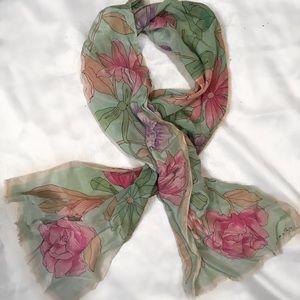 Oscar de la Renta scarf
